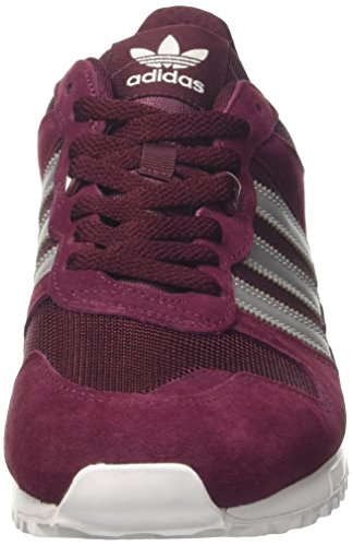 footwear maroon Homme Baskets Rouge Silver matte 700 Adidas Zx White Basses 7YzxBq