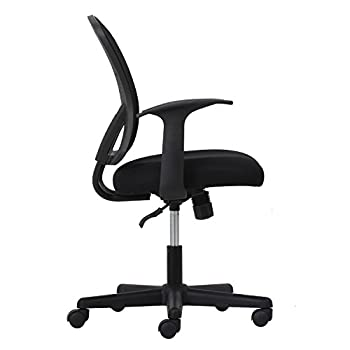 Essentials Swivel Mesh Task Chair With Arms - Ergonomic Computeroffice Chair (Ess-3011) 2