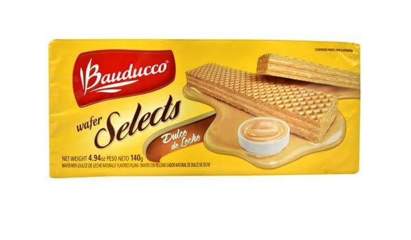 Amazon.com : Bauducco Wafer Selects Cookies Dulce de Leche -- 4.94 oz - 2 pc : Grocery & Gourmet Food