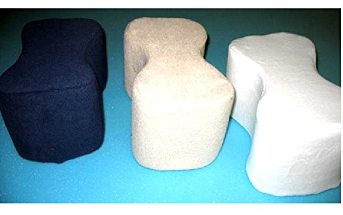"6"" Thick Firm Poly Foam Knee And Ankle Support / For Sciatica Relief, Back Pain, Leg Pain, Pregnancy, Hip and Joint Pain"