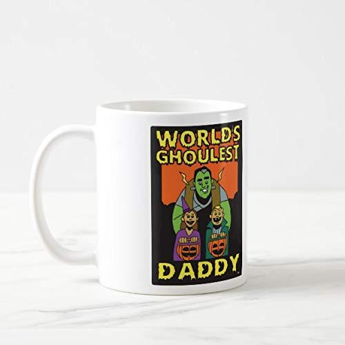 Funny Coffee Mug for Dad Halloween Theme 11oz Funny Gift Mug