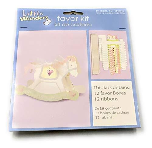 (Little Wonders Favor Kit Paper Rocking Horse Favor Box)