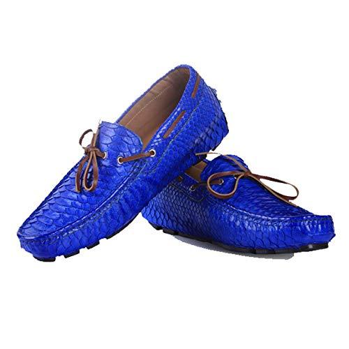 Modello A Antiscivolo Casual Scarpe Goodyear Pigre Serpente Blue Leggero Mano Leggero Fatto O8wgITaq