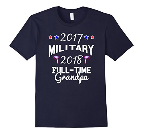 Mens Grandpa Easy Tshirt idea retiring military 2017 2018 XL Navy