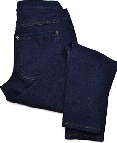Hue Womens Original Jeans Capri Leggings Blue Large(12-14)