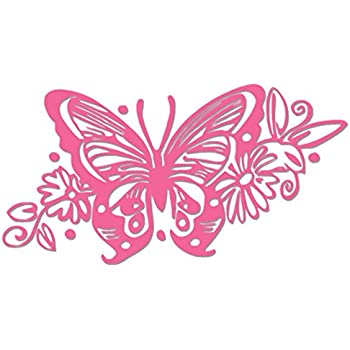 Amazoncom Uxcell Purple Car Exterior Decorative Butterfly - Butterfly vinyl decals