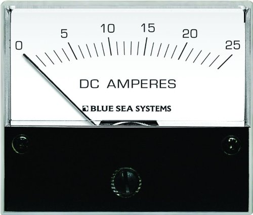 - Blue Sea Systems 8005 DC Analog Ammeter