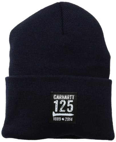 (Carhartt Men's 125th Watch Hat,Navy (Closeout),One Size)