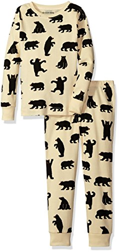 Hatley Donna Black Bears Kids On Natural Bianco Ovl Pj Set Off white Pigiama raqZr
