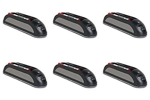(Sparco MaGreenetic Eraser, with Marker Storage, 2 Markers, Black (SPR97250), 6 Packs)