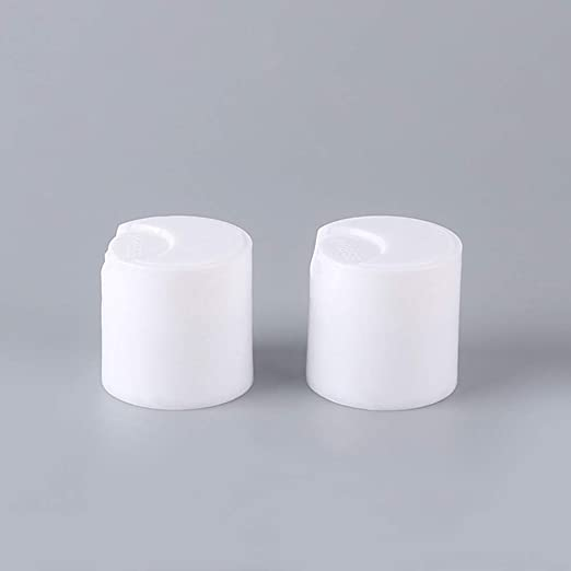 Amazon.com: FanBell 24/410 White Press Caps .270 Orifices Dispensing Smooth Disc  Top Closures Replacement for Squeeze Bottles Neck Diameter 24mm Thread Type  410 Pack of 12: Home Improvement