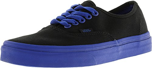 Vans Unisex Authentic Skateschuh Schwarz / True Blue