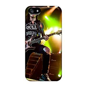 Bumper Cell-phone Hard Covers For Iphone 5/5s With Customized Beautiful Black Veil Brides Band BVB Pattern LauraAdamicska