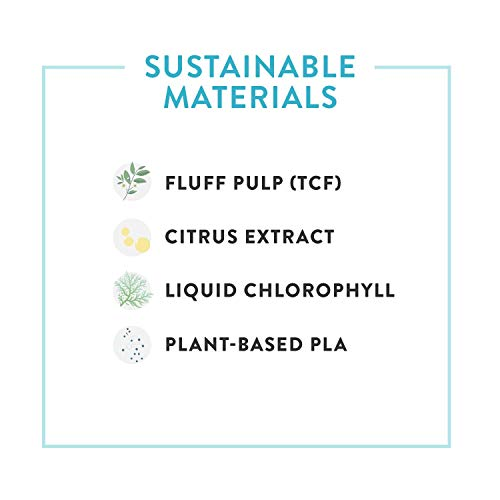 The Honest Company Diapers - Newborn, Size 0 - Rose Blossom Print TrueAbsorb Technology Plant-Derived Materials Hypoallergenic 32 Count (Pack of 4)