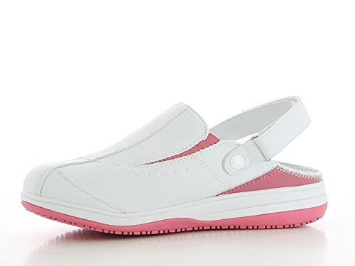 Oxypas Medilogic Iris Slip-resistant, Antistatic Nursing Clogs - Shoes Designed for Medical Professionals