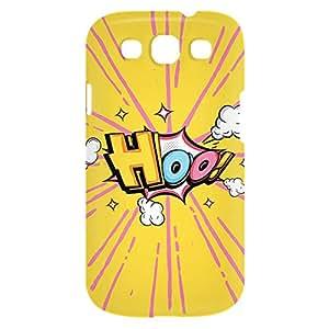 Loud Universe Samsung Galaxy S3 Hoo Print 3D Wrap Around Case - Multi Color