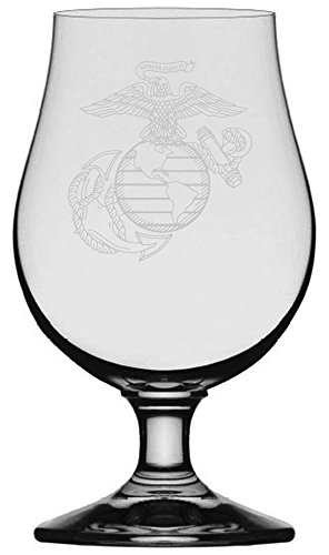 Marines Etched Glencairn Crystal Iona product image