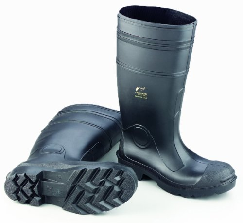 Inch Knee Boot 4 1/2 (ONGUARD 87401 PVC Men's Buffalo Plain Toe Knee Boots with Lug Outsole, 16