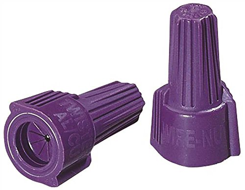 IDEAL 30-1765S Twister Al/Cu Wire Connector, 65 - Purple, 1 lb. (Pack of - Copper Wire Aluminum