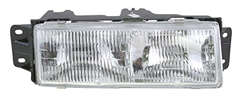 Headlight Headlamp Passenger Side Right RH for 87-96 Olds Cutlass Ciera