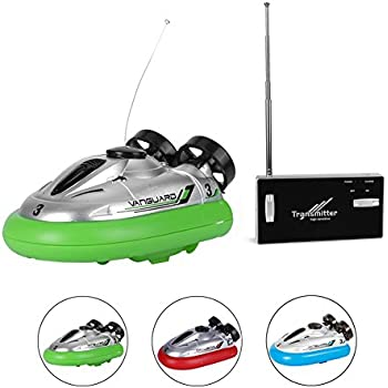 Rely2016 Mini Electric Radio Remote Control Hovercraft JG 777-220 Hover Boat Toy Gift for Kid, Random Color