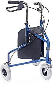Amazon Com 3 Wheel Rollator Walker For Seniors With
