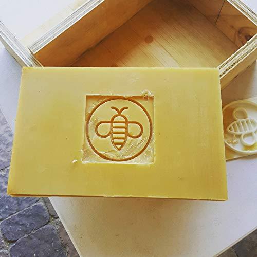 American Beeswax Brick (10 lb) by Basic Honey (Image #1)