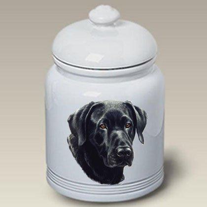 (Best of Breed Black Labrador - Linda Picken Treat Jar )