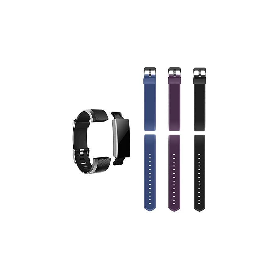 LETSCOM Replacement Bands Fitness Tracker ID115PlusHR