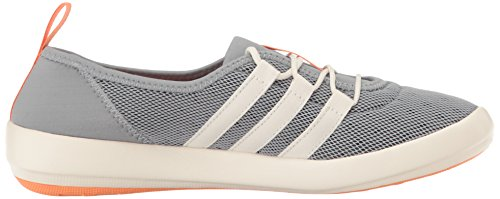adidas Outdoor Damen Terrex Climacool Boat Sleek Wasserschuh Mid Grey / Kreide Weiß / Easy Orange