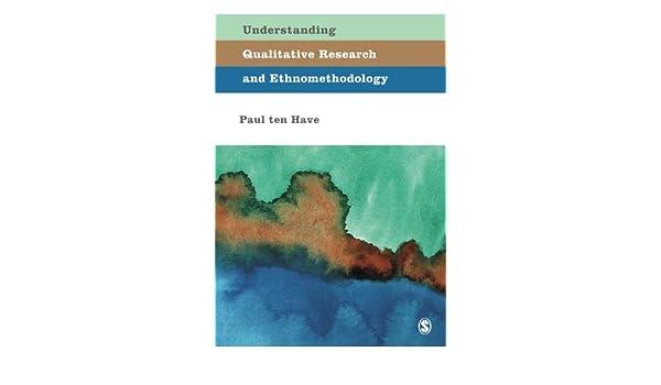 ethnomethodology examples