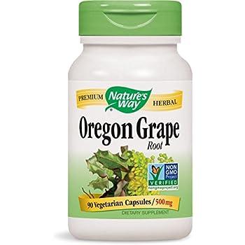 Nature's Way Oregon Grape Root 500 Mg, 90 Vcaps, 90 Count
