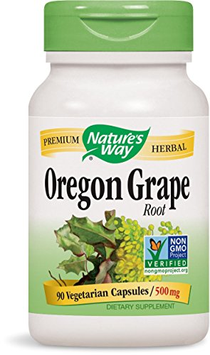 Nature's Way Oregon Grape Root 500 Milligram, 90 Count