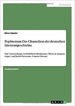 Popliteratur. Das Chameläon der deutschen Literaturgeschichte