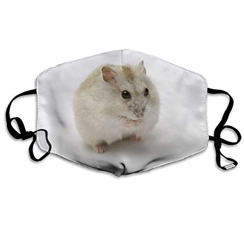 Ubnz50X Cute Little Hamster Cotton Mouth Masks,Anti-dust Face Mask for Women and Men]()