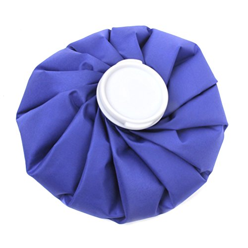 PIXNOR 9-Zoll-Ice-Bag-Cold-Pack für Sport Verletzungen Hals Knie Schmerzlinderung (Blau)
