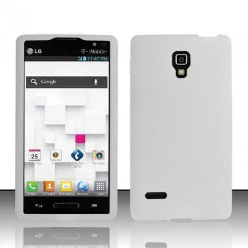 Bundle Accessory for T-Mobile LG Optimus L9 P769 / P760 - White Silicon Skin Soft Case Protector Cover + Lf Stylus Pen + Lf Screen Wiper