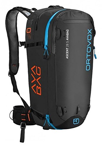Ortovox Ascent 28 S Avabag Backpack, Black Anthracite, 28 Liter, 4610700001 by Ortovox