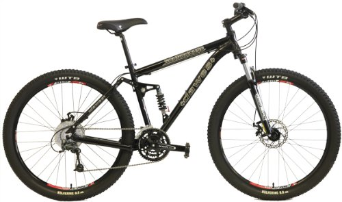 2014 Dawes Roundhouse 2750 Bicycle Shimano 27 Speed 27.5 inch wheel (650B) Full Suspension Bike Lockout Suspension Fork (White, 17 inch) Review