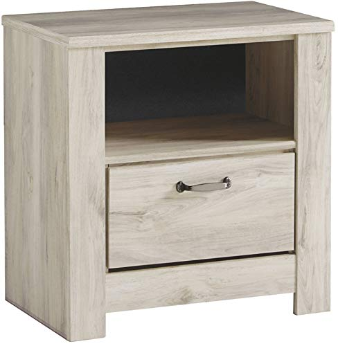 Signature Design by Ashley Bellaby dressers, Whitewash (Linen Night Stand)