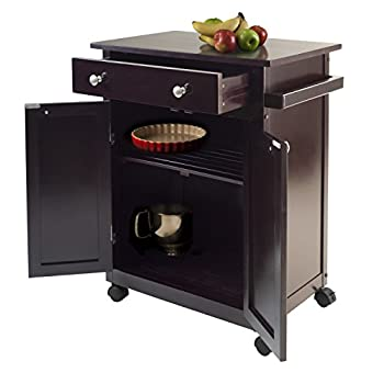 Winsome Savannah Kitchen Cart