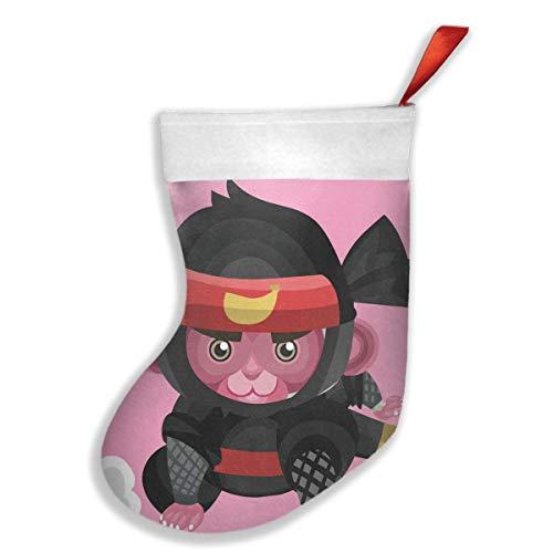 Lovexue Christmas Stockings Monkey As A Ninja Inspiring