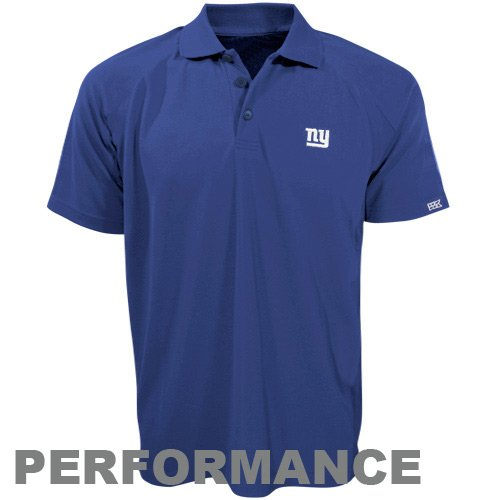 NFL Cutter & Buck New York Giants Royal Blue DryTec Championship Performance Polo (XXX-Large)