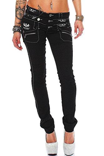 Cipo & Baxx - Vaqueros - Ajustada - para Mujer Modell-11