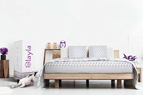 Layla Sleep Memory Foam Queen Mattress   Copper Infused Cooling System