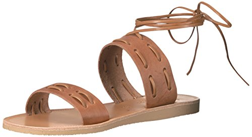 Joie Women's Prisca Flat Sandal, Cuoio, 38 EU/8 M US by Joie