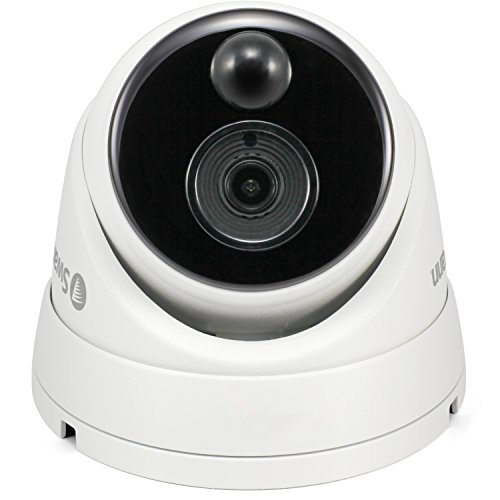 (Swann 1080P Dome DVR Security Camera with Heat & Motion Sensing + Night Vision)