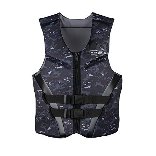 Ronix Covert Life Jacket Black/White/Digi Camo (3XL)
