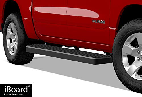 iBoard Running Boards (Nerf Bars | Side Steps | Step Bars) For 2019-2020 Ram 1500 Crew Cab Pickup 4Dr For New Body Style ONLY (Will Not Fit 2018 Model Build ()