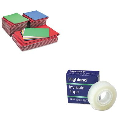 KITMMM6200341296PAC104120 - Value Kit - Pacon Tru-Ray Construction Paper (PAC104120) and Highland Invisible Permanent Mending Tape (MMM6200341296)